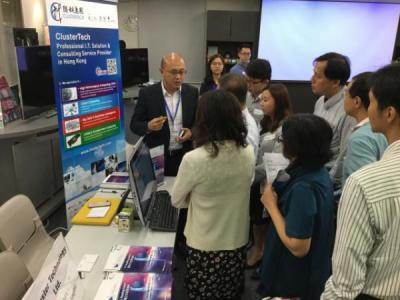 ClusterTech Invited to Participate in ITSC Solutions Day 2016 organised by Office of the Government Chief Information Officer (OGCIO) - 20160923(4).jpg