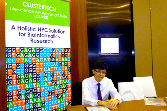 ClusterTech introduced HPC solutions to bioinformatics research - 20121217(2).jpg