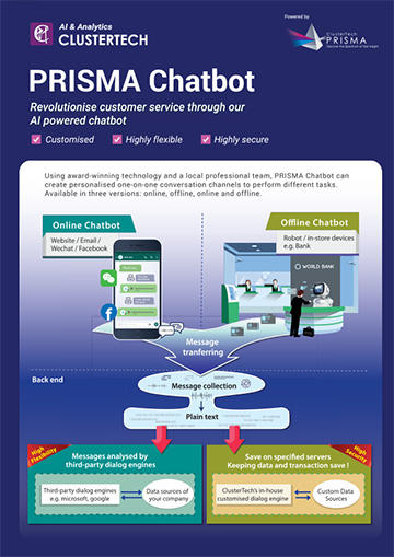 PRISMA Chatbot Product Brochure