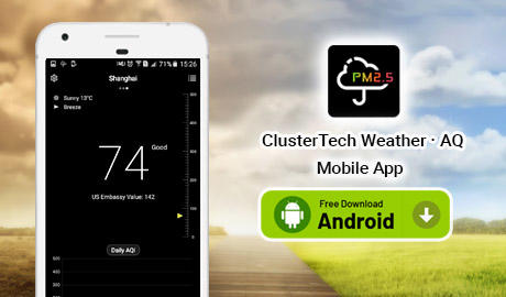 ClusterTech Weather・AQ Mobile App