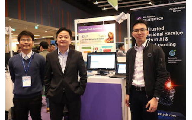 ClusterTech showcases at AI+U Explore & Experience Exhibition